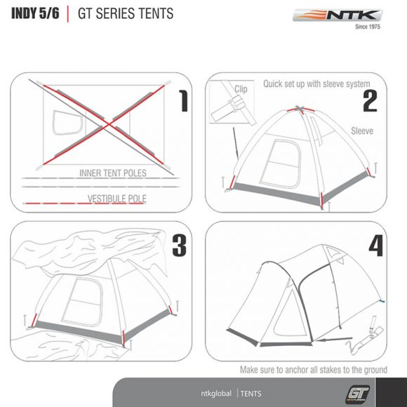 NTK Indy GT 5/6 Tent