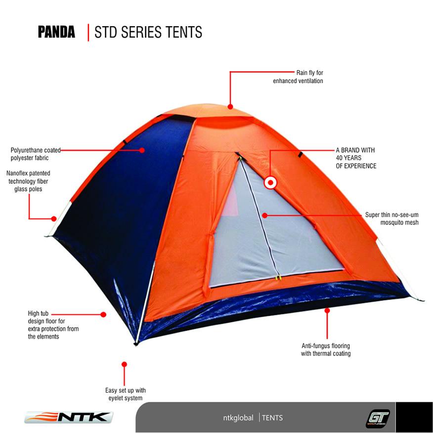 NTK Panda Tent  sc 1 st  NTK Global & NTK | Panda 2 Tent