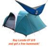 NTK Laredo GT Tent 8/9 plus free hammock