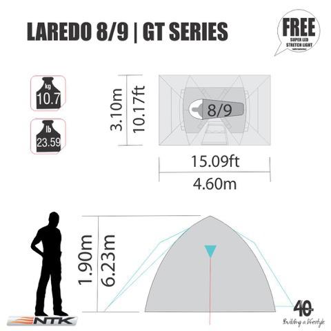 NKT Laredo 8/9 tent