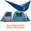Arizona GT 9/10 Person Camping Tent + Free Hammock