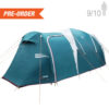 Pre Order - Arizona GT 9/10 Family Camping tent