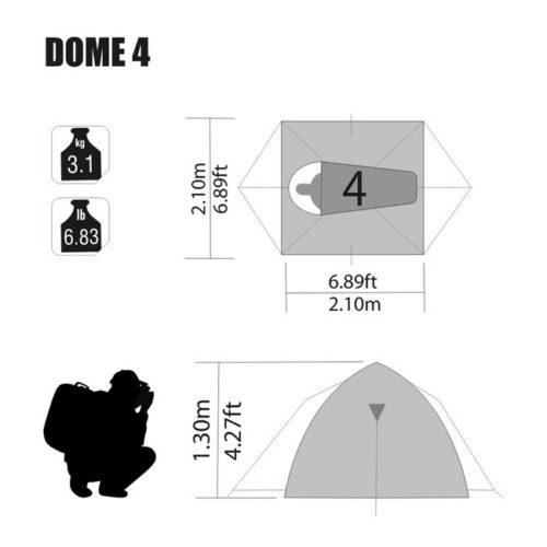 ntk-dome-4-specs
