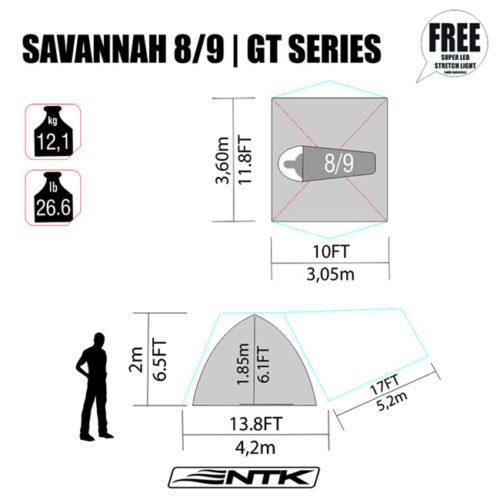 NTK savannah GT 8/9