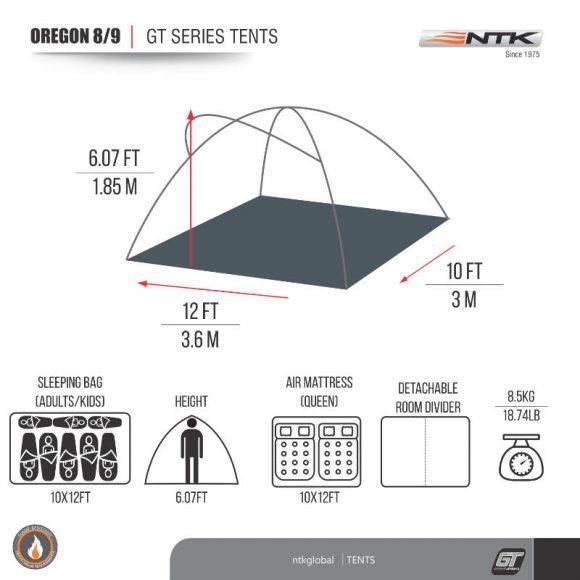 NTK Oregon GT 8/9