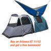 Arizona GT 11/12 Camping tent + Free Hammock