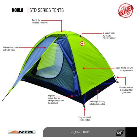 NTK Koala 2 Tent  sc 1 st  NTK Global & Koala 2 Tent | NTK USA