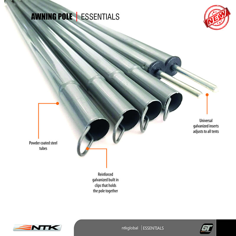 NTK Replacement Pole  sc 1 st  NTK Global & Awning Tarp and Tent Universal Poles | NTK USA