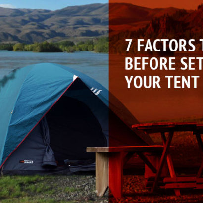 7 factors to choose a campsite