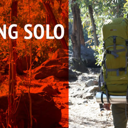 Camping Solo Basic Tips