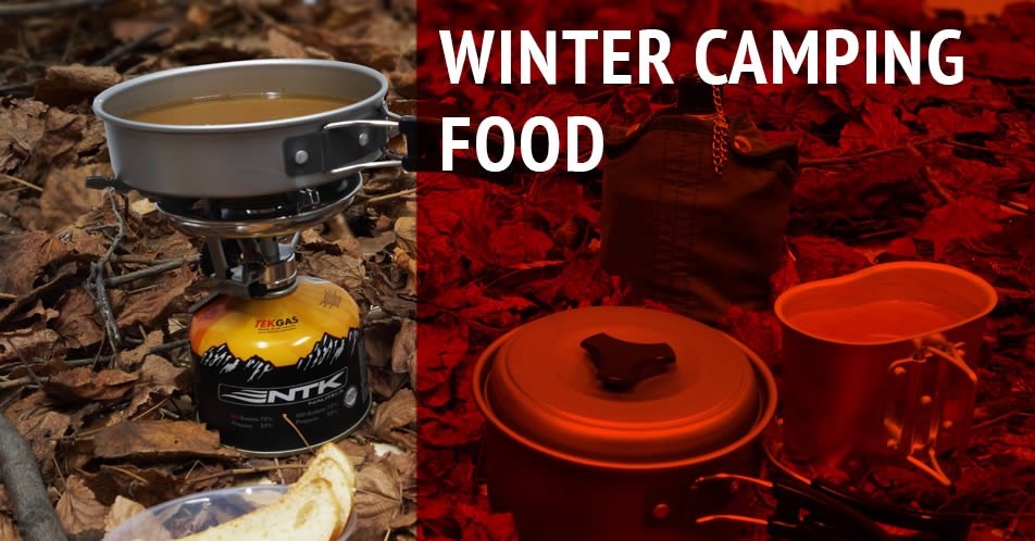Winter Camping Food