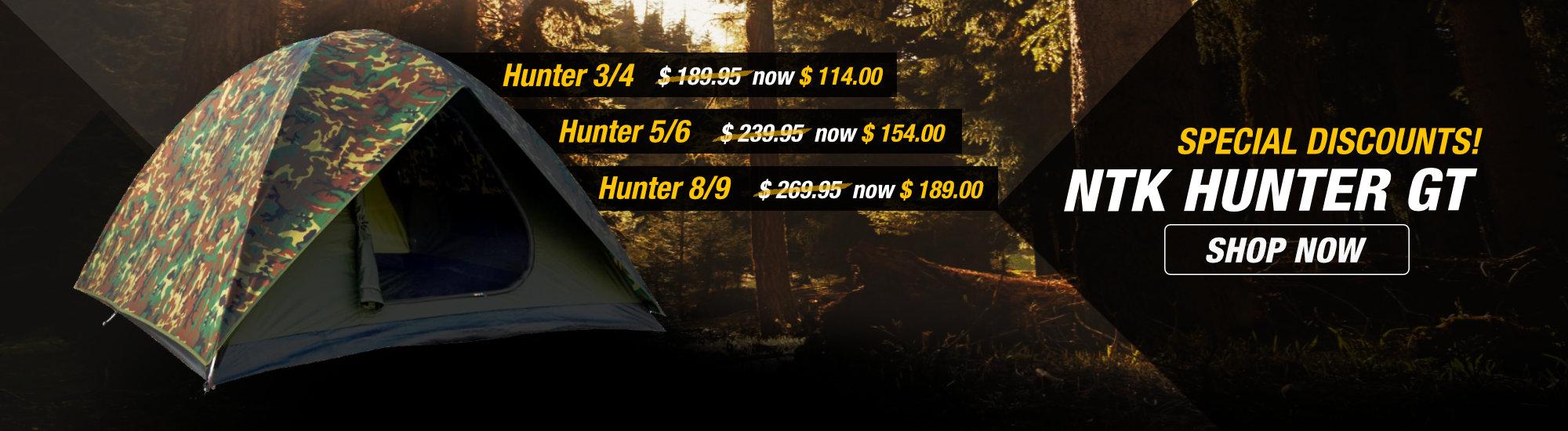 NTK Hunter GT Tents Discount