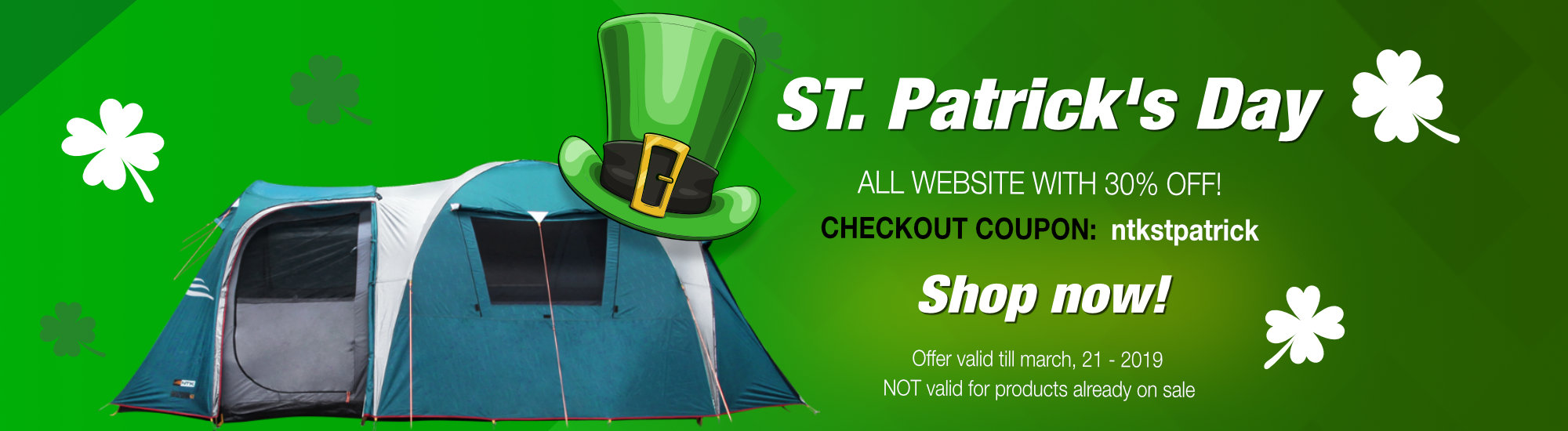St. Patrick Discount