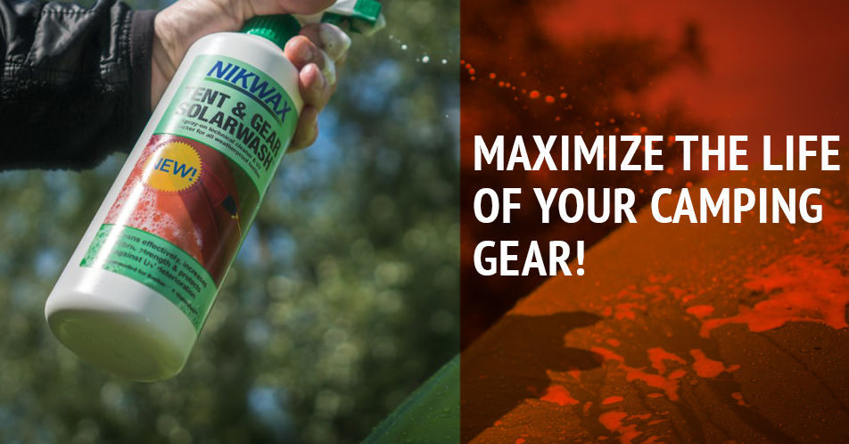 Tips how to maximize camping gear life
