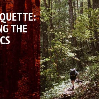 Basics - Trail Etiquette