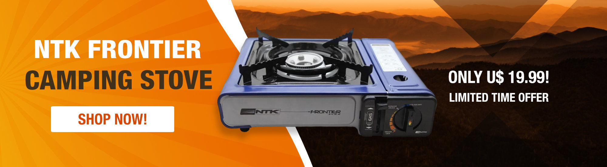 NTK Frontier Camping Stove