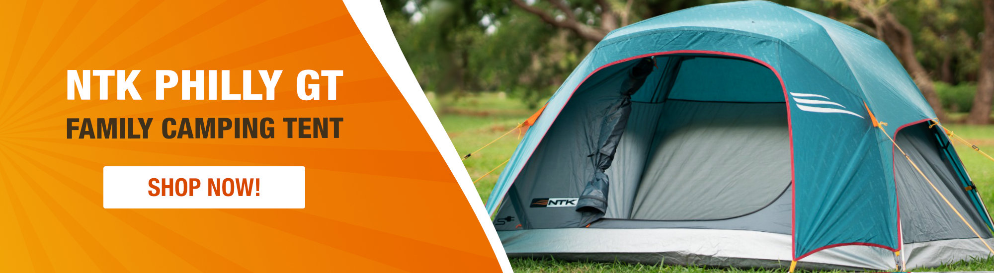 NTK Philly GT Family Camping Tent