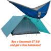6 person tent + free hammock