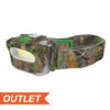 COB HEADLAMP 3-AAA BATTERY - CAMO