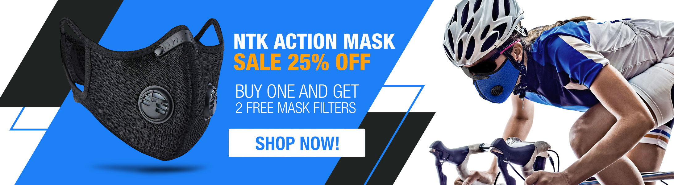 Special Promo 25% OFF! Action Mask