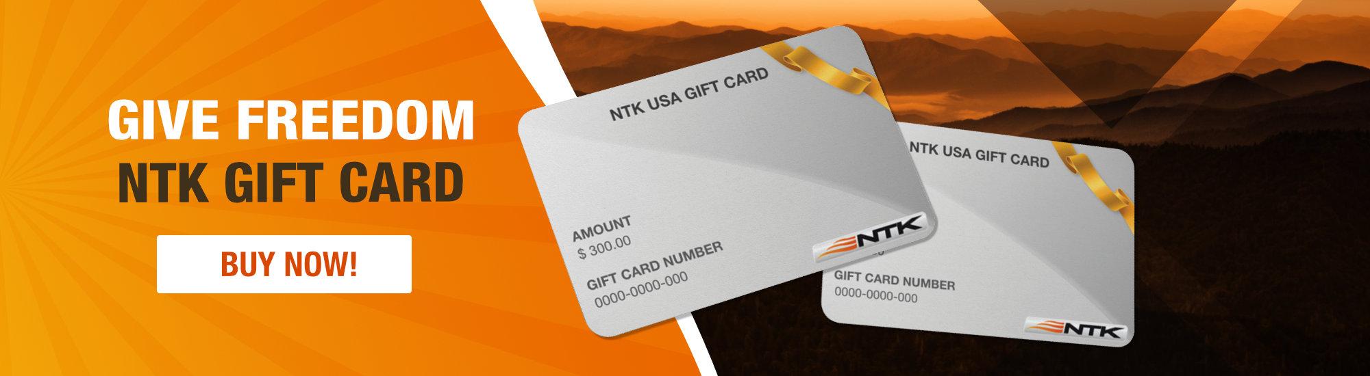 NTK USA Gift Card