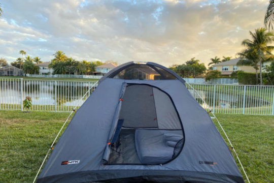 Camping Tent - Home camping