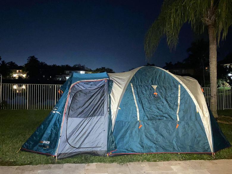 NTK Arizona camping tent