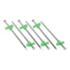 10 inch Steel tent stakes