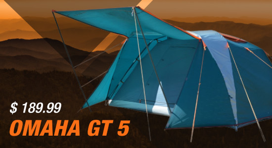 NTK Omaha GT 5 person camping tent